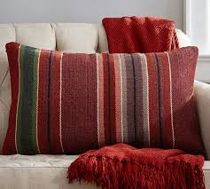Pottery Barn Kilim Pillow Cover Cortland Stripe Pillow Cover Pottery Barn