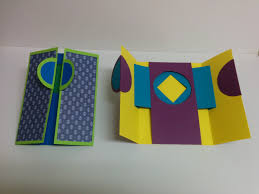 and craft how to make window shutter card magic card