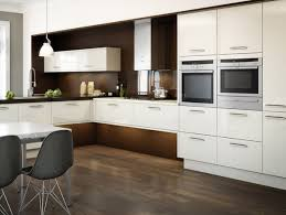 Black And White Kitchen With Curved Island Elektravetro by Tag For Best Contemporary Kitchen Ideas Outstanding Modern