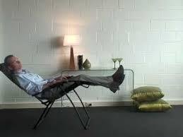 lafuma outdoor zero gravity recliner from bad backs youtube