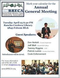 april 2017 breca added to agenda
