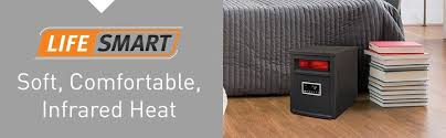 how do infrared heat ls work amazon com lifesmart large room 6 element infrared heater w remote