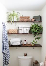 5 Creative Solutions For Small Bathrooms Hammer Amp Hand 10 Spots To Sneak In A Little More Shelf Storage Apartment