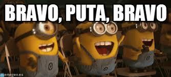 Minions Memes En Espaã Ol - minion bravo puta bravo en memegen