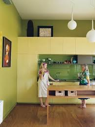 cheerful summer interiors 50 green kitchen design yellow green crowdbuild for