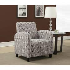 Earth Tone Pictures by Monarch Specialties Grey And Earth Tone Fabric Arm Chair I 8044