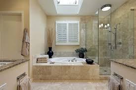Modern White Bathroom - carrara marble tile bathroom undermount sinks shower with glass