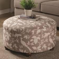 coaster ottomans round storage ottoman coaster fine furniture