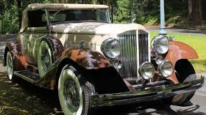 replica rolls royce 1933 packard eight roadster replica t43 monterey 2011