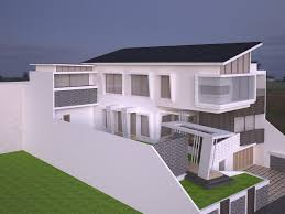 Simpel House by Really Really Simple House 3d Cgtrader