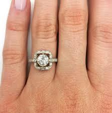 single stone art deco inspired engagement ring u2013 harold stevens