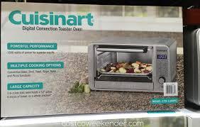 Toaster Costco Cuisinart Cto 1300pc Digital Convection Toaster Oven Costco