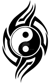 tribal yin yang 001 vinyl graphic idea by ally on deviantart