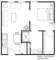 300 Sq Ft House Floor Plan 20 U0027 X 20 House Design Idea Starla Model