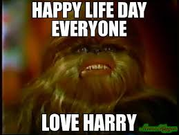 Happy Life Meme - happy life day everyone love harry meme custom 17685 memeshappen