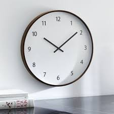 Compare Prices On Wall Watch For Kitchen Home Decor Online by Wall Clocks Crate And Barrel