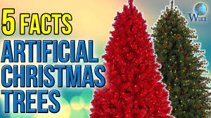 artificial christmas trees 5 fast facts youtube
