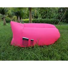 canap convertible gonflable canapé gonflable avec poche sofa extérieur sac de couchage coussin