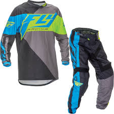 new jersey motocross tracks fly racing 2016 f 16 blue hi vis motocross kit jersey pants mx off