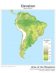 Maps South America by South America Climate Map South America Drought Robertscribbler