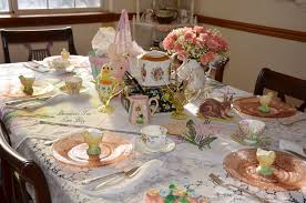 bernideen u0027s tea time cottage and garden easter table for