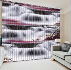popular waterfall 3d curtains buy cheap waterfall 3d curtains lots