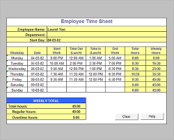 how to make a timesheet in excel weekly timesheet calculator with lunch tunnelvisie