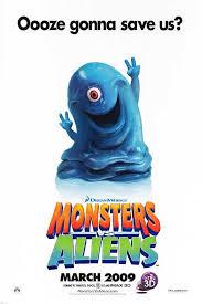 monsters aliens movie poster 1 26 imp awards