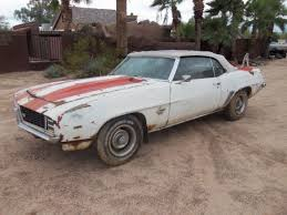 69 camaro project for sale 1969 chevrolet camaro z 11 pace car project bring a trailer
