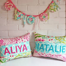 Customized Cushion Covers Personalized Name Pillow Kumari Garden Word Love Customized Rag