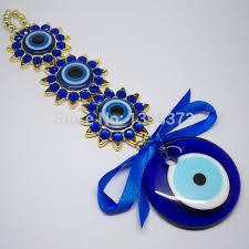 free shipping blessing flower evil eye pendant islam home wall