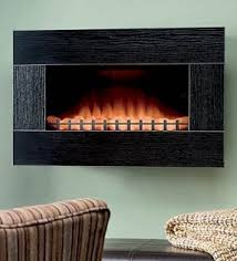 Electric Wall Fireplace Wall Electric Fireplace Heater Foter