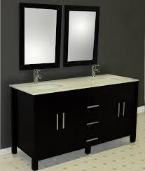 bed u0026 bath modern black kohler bathroom vanities with 4 door and