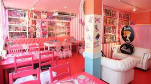 japanese cafe decorated with barbie dolls youtube