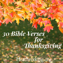 30 bible verses for thanksgiving in palmyra