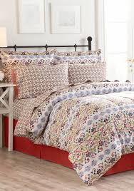 home accents turnstyles isabel reversible 8 piece bedding