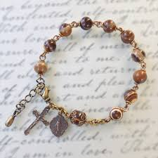 rosary bracelet handmade catholic rosary bracelets