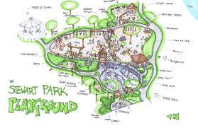 Ithaca Map Playground Friends Of Stewart Park