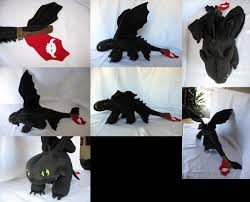 httyd etsy toothless custom plush from how train your dragon