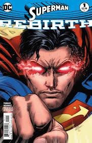 exclusive preview superman rebirth 1 comic vine