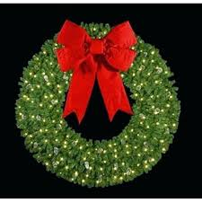 large outdoor lighted wreaths laurel wreath png sumoglove