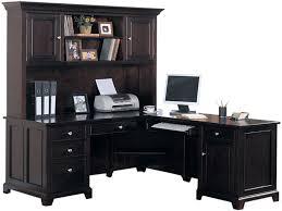 Computer Desks Office Depot Black Desk With Hutch With Hutch And Drawers Black Desk Computer