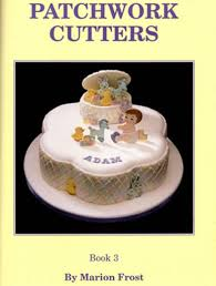patchwork cutters books frost icing sugarcraft cake decorating