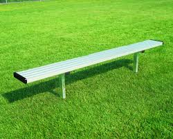 player bench without backrest bison inc