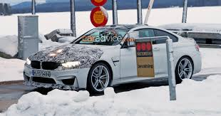 kereta bmw 2018 bmw m4 facelift spied in sweden photos 1 of 10