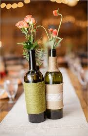 Marvellous Wine Bottle Wedding Decor 8 Recycled Wine Bottle