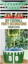Super Bowl Decorating Ideas Best 25 Football Party Decorations Ideas On Pinterest Football