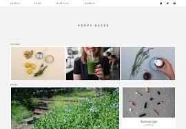 Lifestyle Blog Design Park U0026 Cube Lifestyle Blog Wordpress Custom Design Designed By