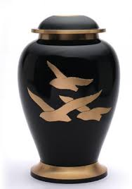 urn for human ashes collection large going home black cremation urn human ashes