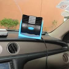 plug in car fan 12v mini portable cigarette lighter plug vehicle fan air vent car